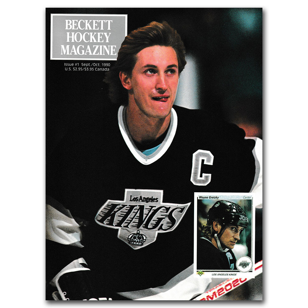 Wayne Gretzky Beckett Hockey Magazine - Issue #1 Sept/Oct 1990