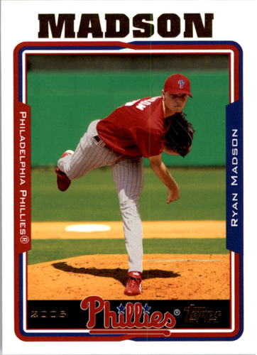 Photo of 2005 Topps #430 Ryan Madson