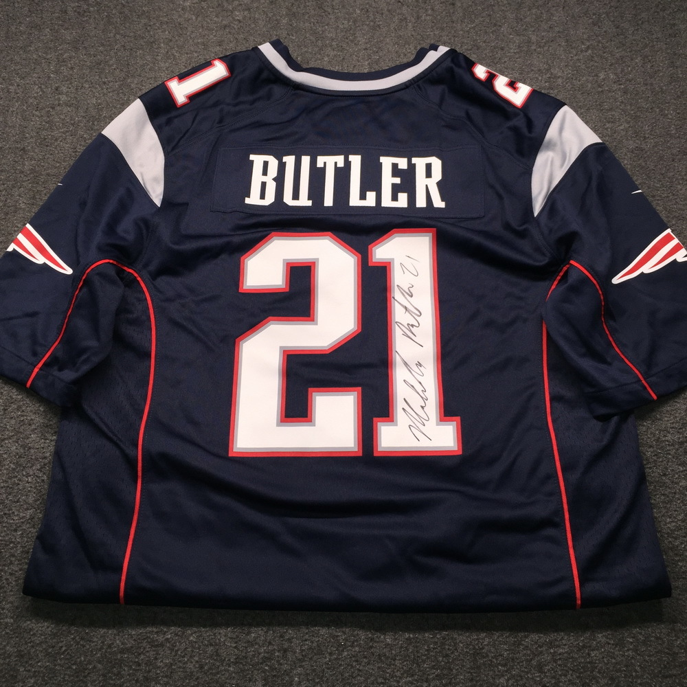 0889970fda0 real mens new england patriots danny amendola nike navy blue silver game  jersey 22fd5 995ea; coupon for patriots malcolm butler signed replica jersey  size l ...