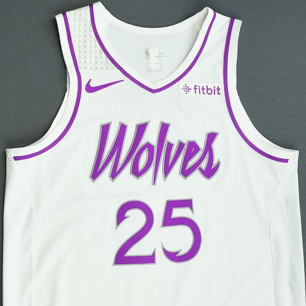 8153a6481 Derrick Rose - Minnesota Timberwolves - Game-Worn Earned City Edition  Jersey - Scored Team. Current Bid   2080.00