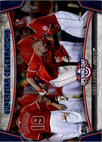 Photo of 2015 Topps Opening Day Superstar Celebrations #SC01 Mike Trout