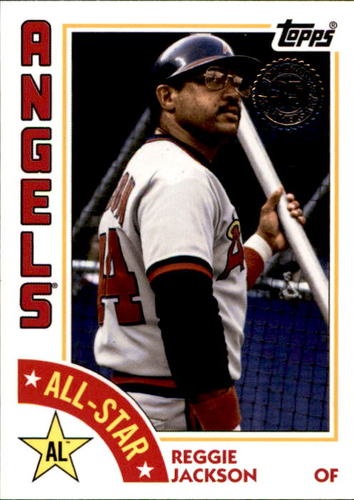 Photo of 2019 Topps '84 Topps All Stars #84ASRJ Reggie Jackson