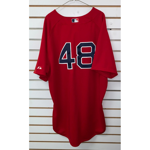 Photo of Pablo Sandoval Team Issued 2015 Home Alternate Jersey