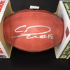 NFL - FALCONS WR CALVIN RIDLEY SIGNED AUTHENTIC 'DUKE' FOOTBALL W/ #18 INSCRIPTION