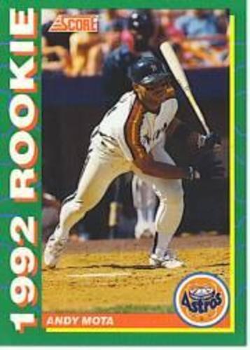 Photo of 1992 Score Rookies #16 Andy Mota