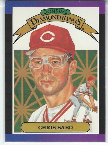 Photo of 1989 Donruss #4 Chris Sabo DK DP