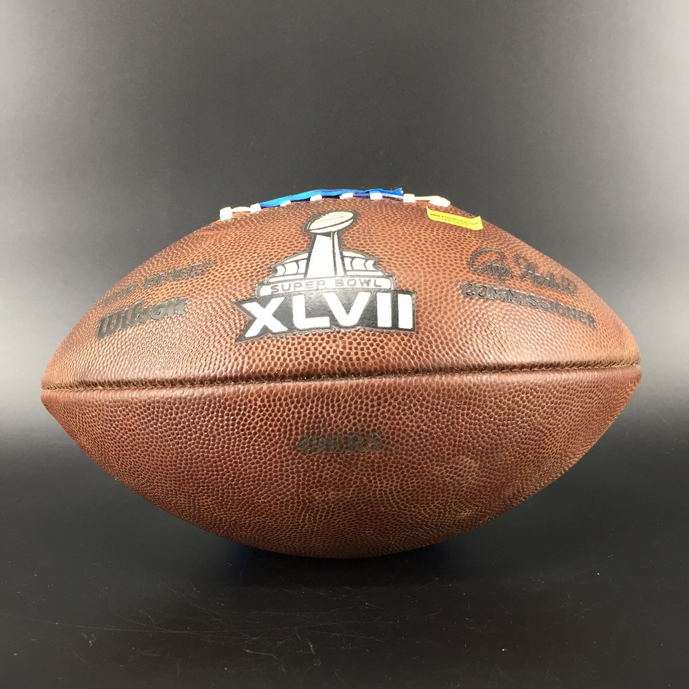NFL - 49ers Super Bowl 47 Game Used Ball