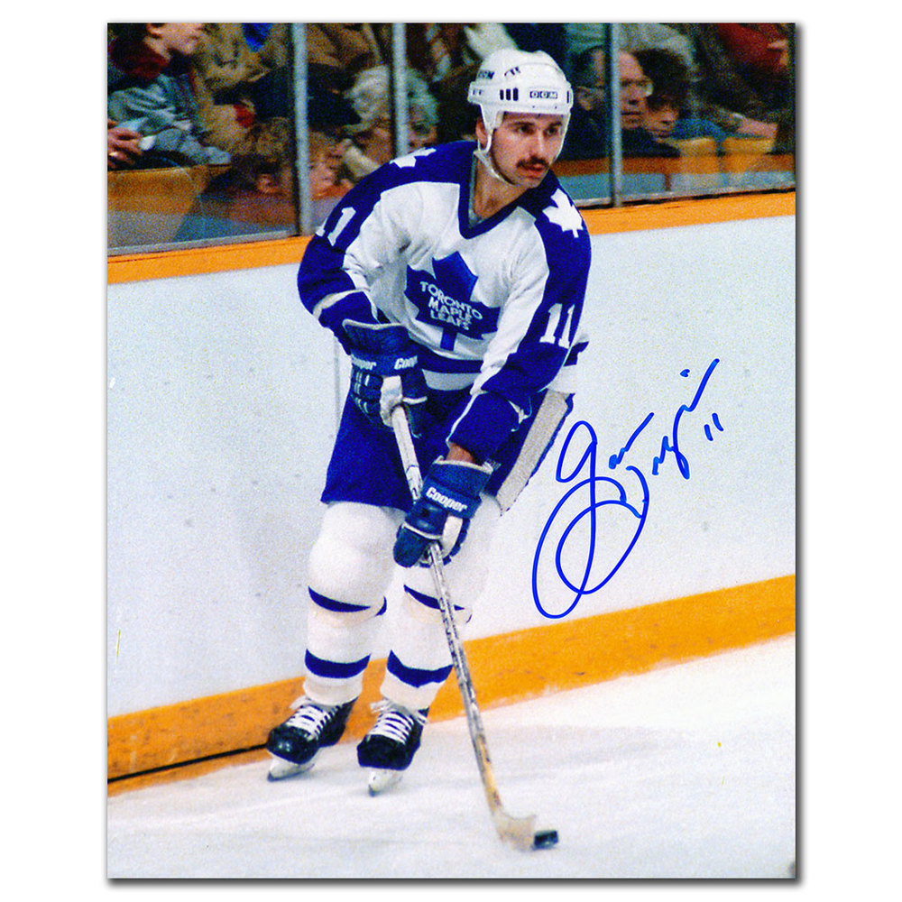 Gaston Gingras Toronto Maple Leafs Autographed 8x10
