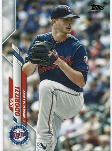 Photo of 2020 Topps #409 Jake Odorizzi