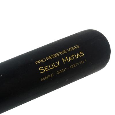 Seuly Matias - Game Used Bat