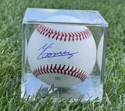 Photo of Yoendrys Gomez Signed Baseball