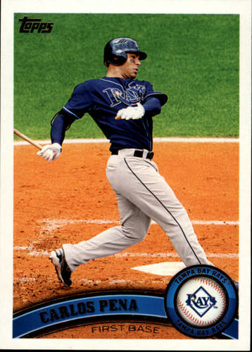 Photo of 2011 Topps #163 Carlos Pena