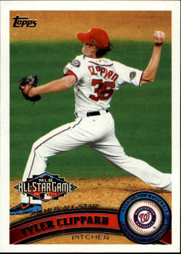 Photo of 2011 Topps Update #US68 Tyler Clippard