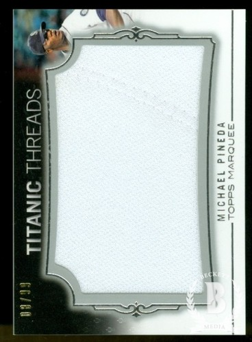 Photo of 2011 Topps Marquee Titanic Threads #TTJR68 Michael Pineda