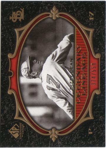 Photo of 2007 SP Legendary Cuts #192 Dizzy Dean LL