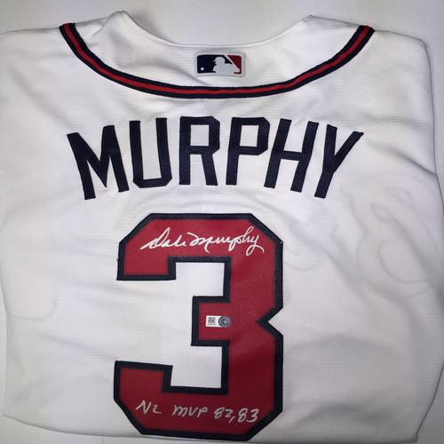 Dale Murphy Autographed