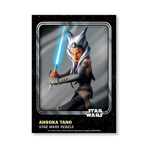 Ahsoka Tano 2016 Star Wars Card Trader Base Poster - # to 99