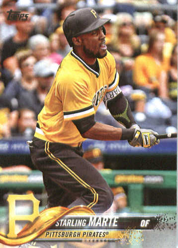 Photo of 2018 Topps #60 Starling Marte