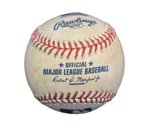 Photo of Game-Used Baseball from Pirates vs. Dodgers on 6/27/16 - Sean Rodriguez Double