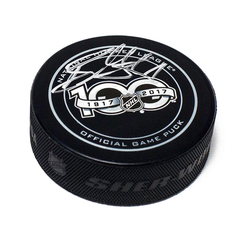 Ryan Getzlaf NHL Centennial Season Autographed 100 Years Official Game Puck *Anaheim Ducks*