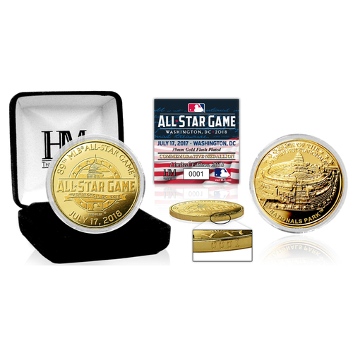 Photo of Serial #1! 2018 MLB All Star Game Gold Mint Coin