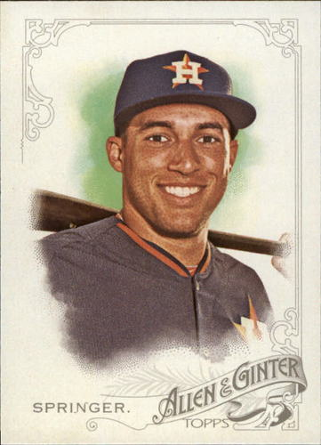 Photo of 2015 Topps Allen and Ginter #247 George Springer