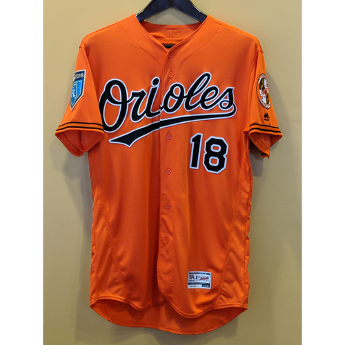 Photo of Austin Hays - Spring Training Jersey: Game-Used