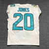 Crucial Catch - Dolphins Reshad Jones game worn Dolphins jersey (October 8, 2017) Size 40