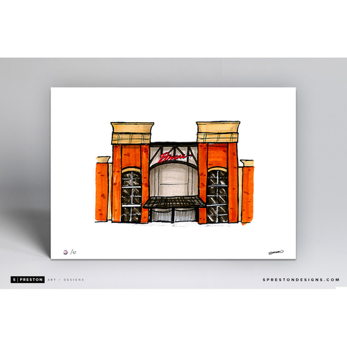 Photo of SunTrust Park Sketch - Limited Edition Print 2/42 by S. Preston