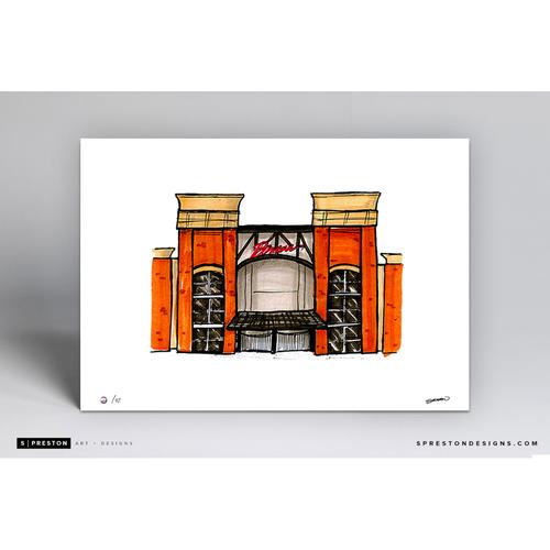 Photo of SunTrust Park Sketch - Limited Edition Print 2/42 by S. Preston