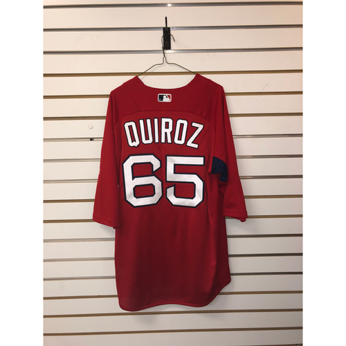 Photo of Esteban Quiroz Team-Issued Home Batting Practice Jersey