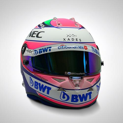 Photo of Sergio Perez 2018 1:1 Replica Helmet