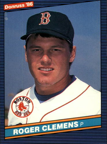 Photo of 1986 Donruss #172 Roger Clemens