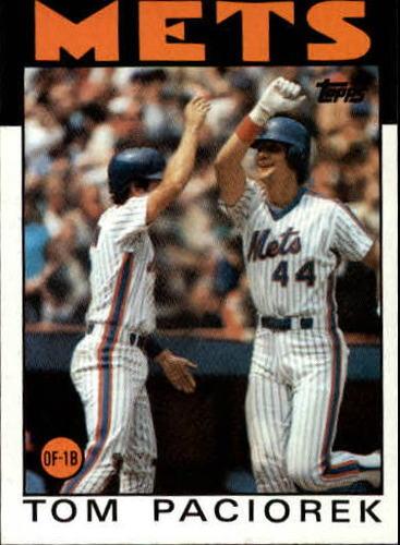 Photo of 1986 Topps #362 Tom Paciorek