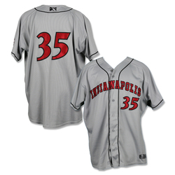 Photo of #35 Cody Ponce Game Worn Road Jersey