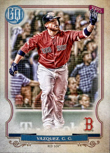 Photo of 2020 Topps Gypsy Queen #206 Christian Vazquez