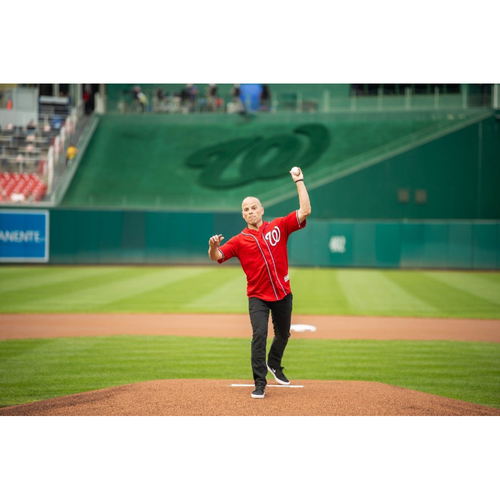 Photo of Washington Nationals Philanthropies Fall Ball Auction: First Pitch at Nats Park