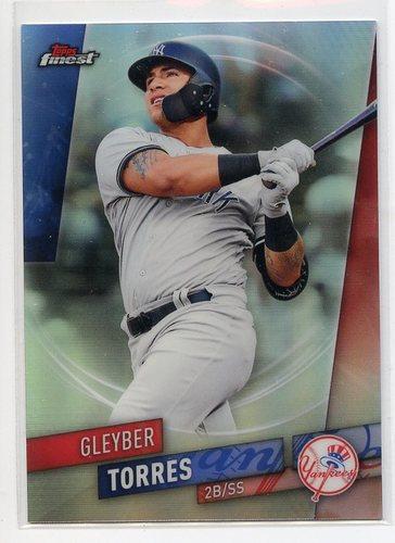 Photo of 2019 Finest Refractors #53 Gleyber Torres