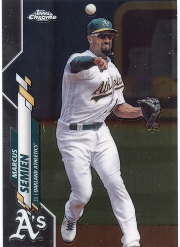 Photo of 2020 Topps Chrome #144 Marcus Semien