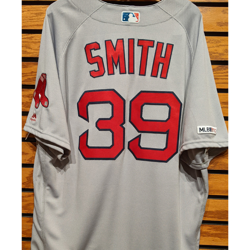 Photo of Carson Smith #39 Team Issued Road Gray Jersey