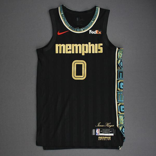 Image of De'Anthony Melton - Memphis Grizzlies - Game-Worn City Edition Jersey - 2021 NBA Playoffs