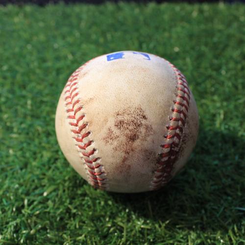 Photo of Game-Used Baseball: Yermin Mercedes 36th Career Hit & 17th Career RBI (CWS@KC 5/8/21)