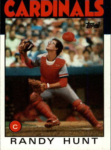 Photo of 1986 Topps #218 Randy Hunt