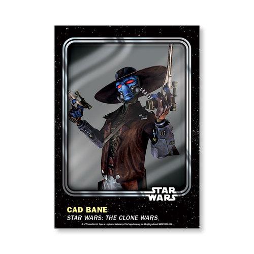 Cad Bane 2016 Star Wars Card Trader Base Poster - # to 99