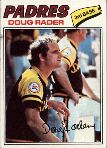 Photo of 1977 Topps #9 Doug Rader