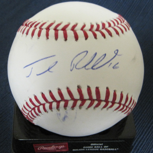 UMPS CARE AUCTION: Josh Reddick Signed Baseball