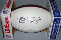 NFL - TITANS TAYWAN TAYLOR SIGNED PANEL BALL