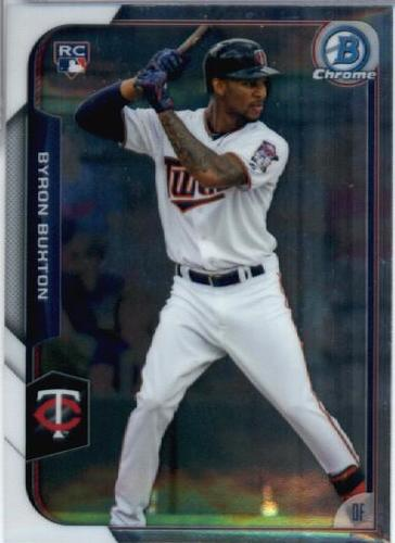 Photo of 2015 Bowman Chrome #4 Byron Buxton RC