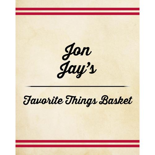 Photo of Jon Jay's Favorite Things Basket