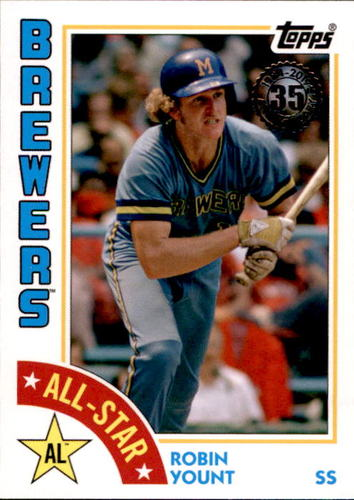 Photo of 2019 Topps '84 Topps All Stars #84ASRY Robin Yount